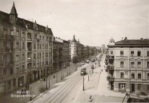 Głogowska, zdjęcie  z początku okupacji Foto: fotopolska.eu