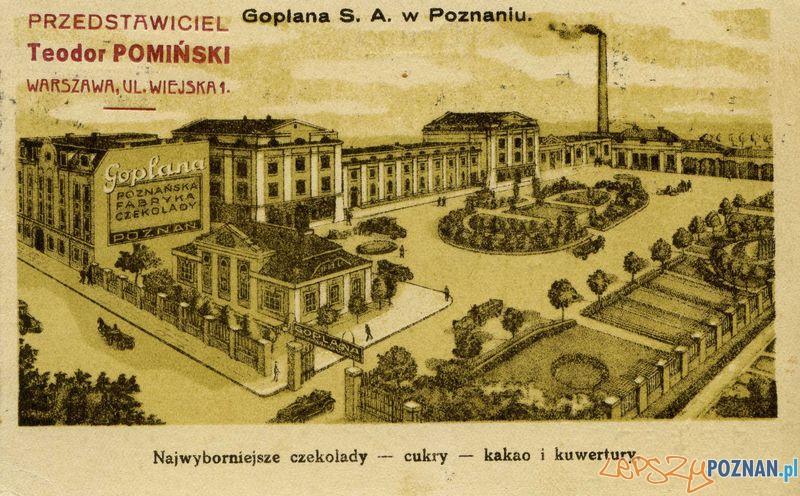 Goplana  Foto: Muzeum Narodowe w Poznaniu, wystawa Miejska ikonosfera na drukach reklamowych z widokami Poznania 18