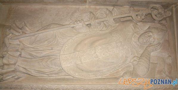 Nagrobek Łukasza Kościeleckiego w poznańskiej katedrze Foto: wikipedia.pl