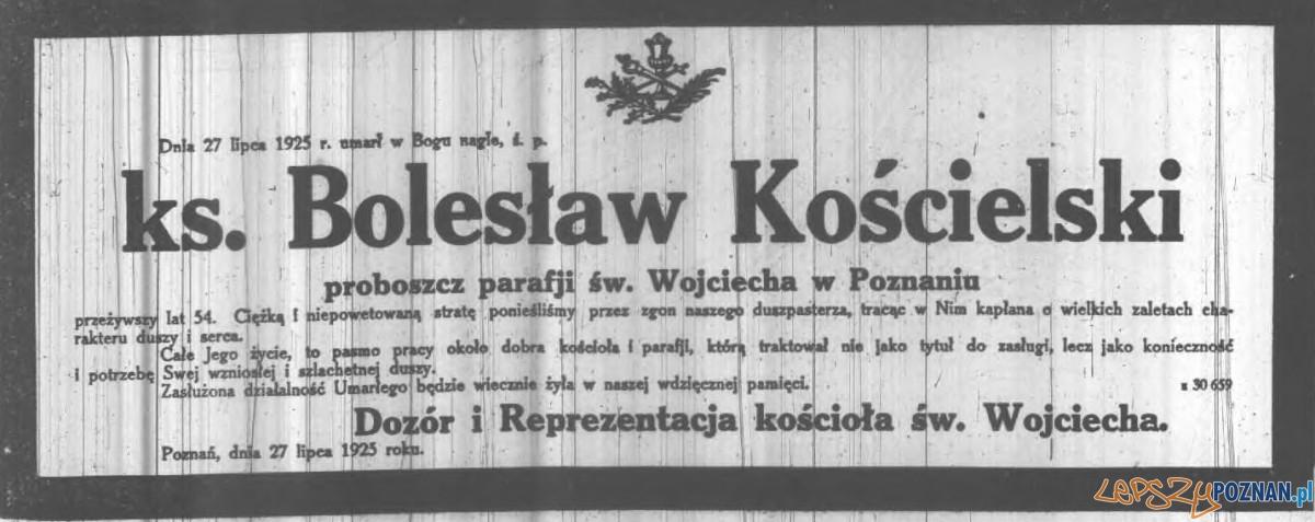 Nekrolog z Kurjera Poznańskiego Foto: http://www.wtg-gniazdo.org