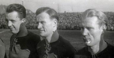 Tercet A-B-C Teodor Anioła, Henryk Czapczyk, Edmund Białas Foto: http://k-o-l-e-j-o-r-z.blog.onet.pl