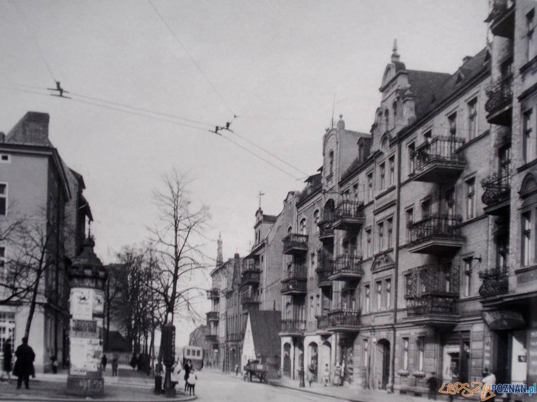 Ulica Bydgoska w 1937 roku Foto: internet