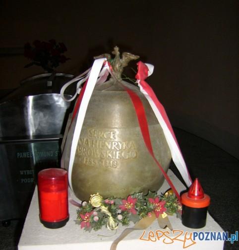 Urna z sercem Jana Henryka Dąbrowskiego Foto: http://jhdwodz.blogspot.com