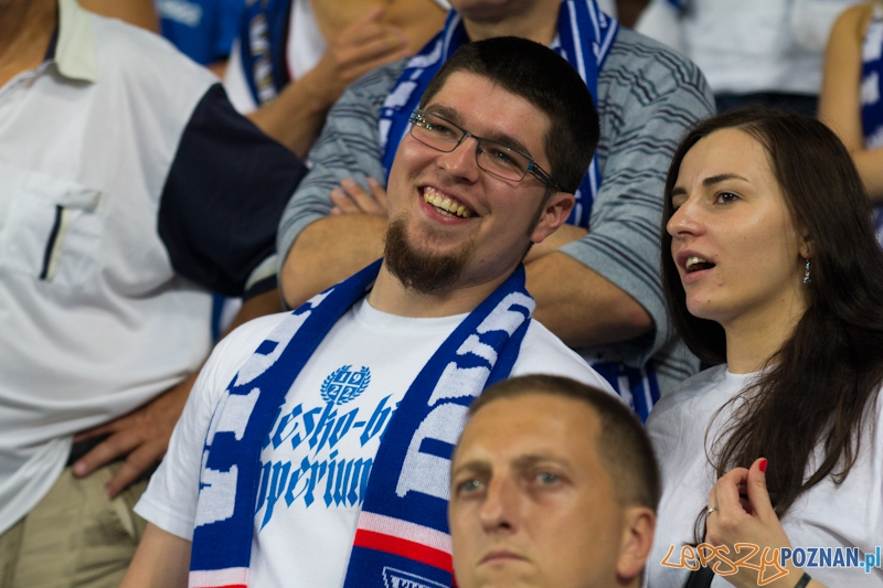 Druga runda eliminacji Ligii Europejskiej - najlepsi kibice na świecie  Foto: lepszyPOZNAN.pl / Piotr Rychter