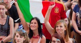 Finał UEFA EURO 2012 - Hiszpania - Włochy. Strefa Kibica w Poznaniu