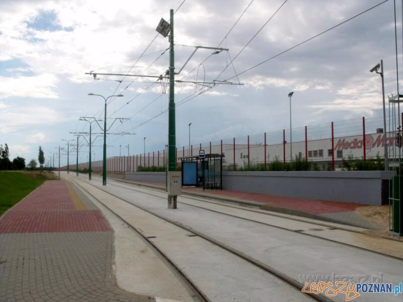 Nowa trasa tramwajowa na Franowo