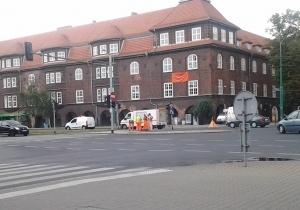 Utrudnienia na Garbarach Foto: lepszyPOZNAN.pl / tab