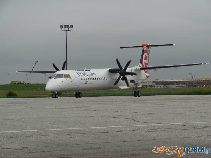 Bombardier samolot Eurolot  Foto: facebook