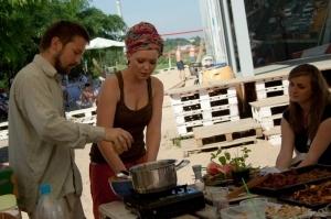 Restaurant Day w Kontener Art Foto: Ewelina Gutowska