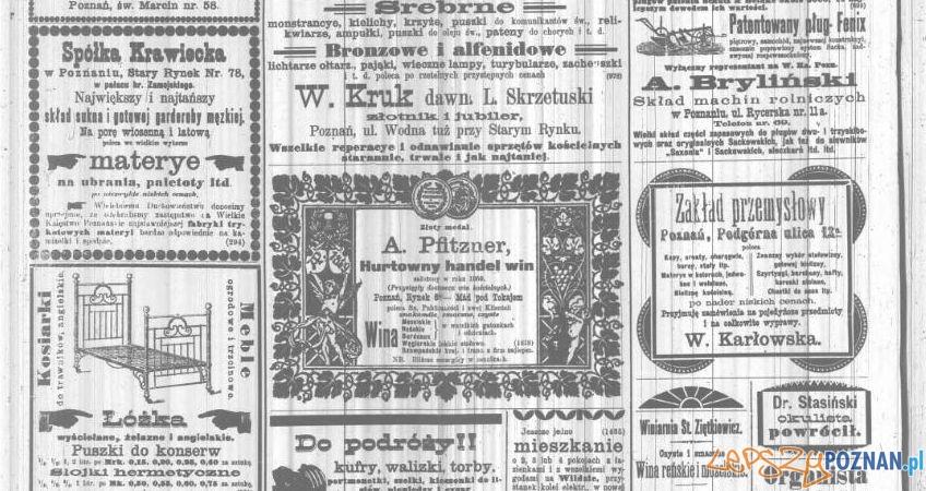 Kurjer Poznański, 17 sierpnia 1900_anonse