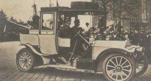 Przyjazd cesarza Wilhelma II i odbiór Zamku