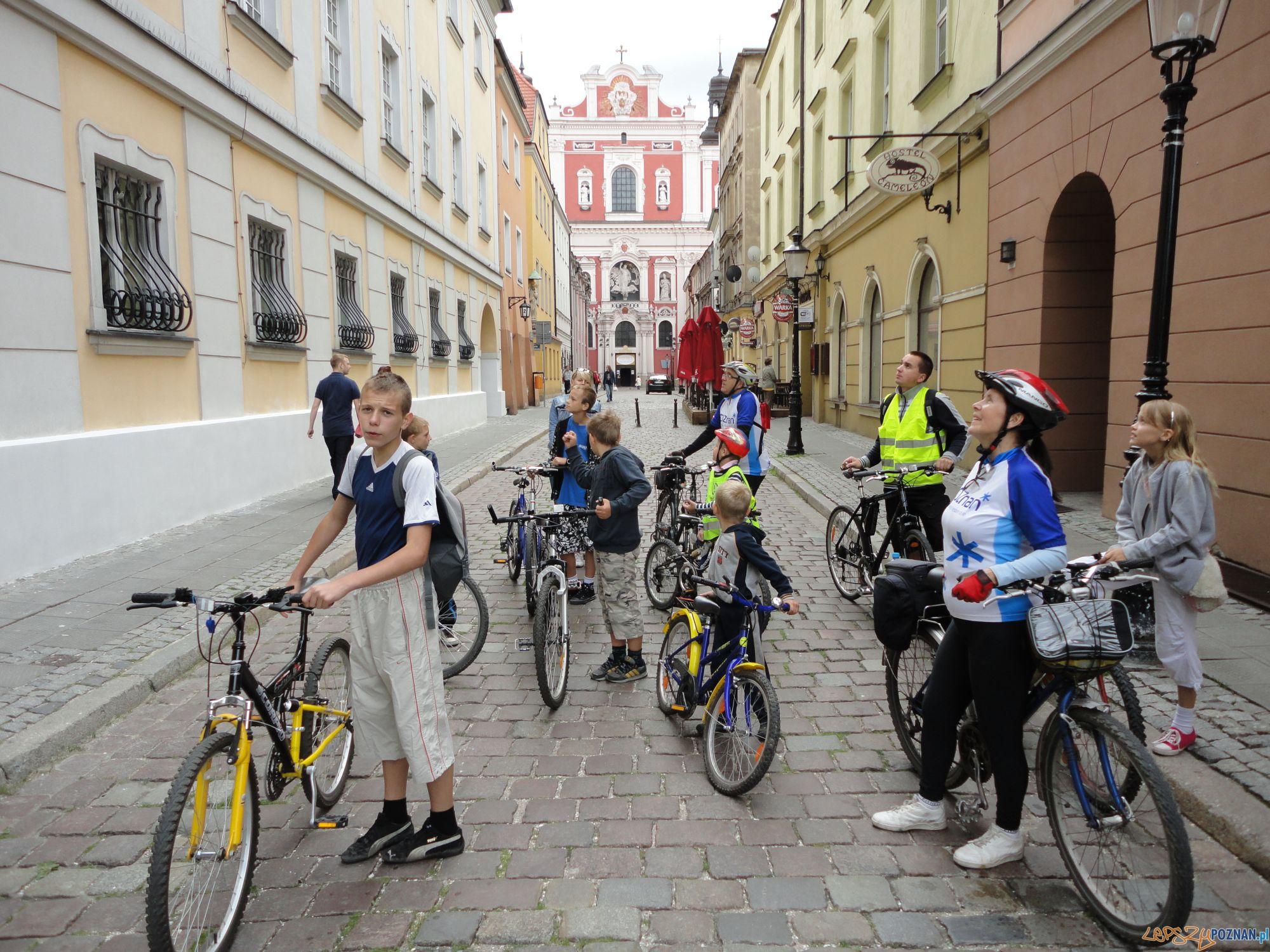 Rajd rowerowy organizowany przez POSiR  Foto:
