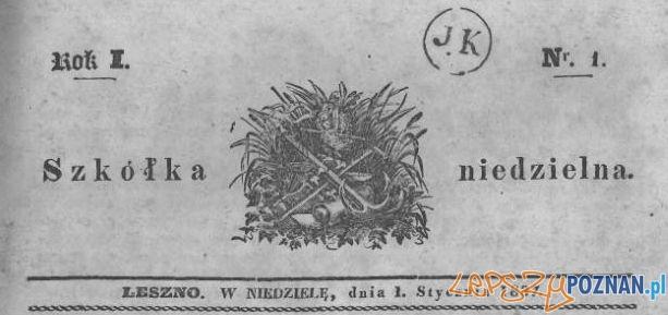 Szkółka Niedzielna nr 1, 1 stycznia 1837