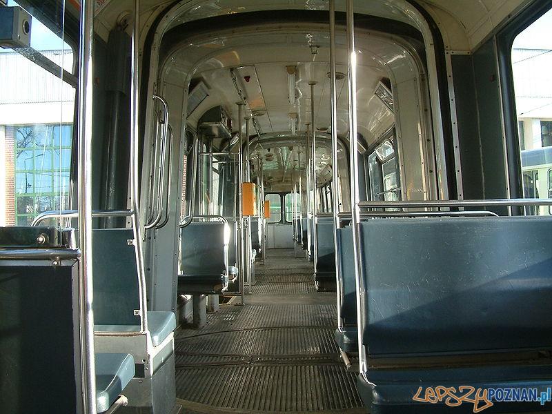 Wnętrze holenderskiego tramwaju  Foto: wikipedia