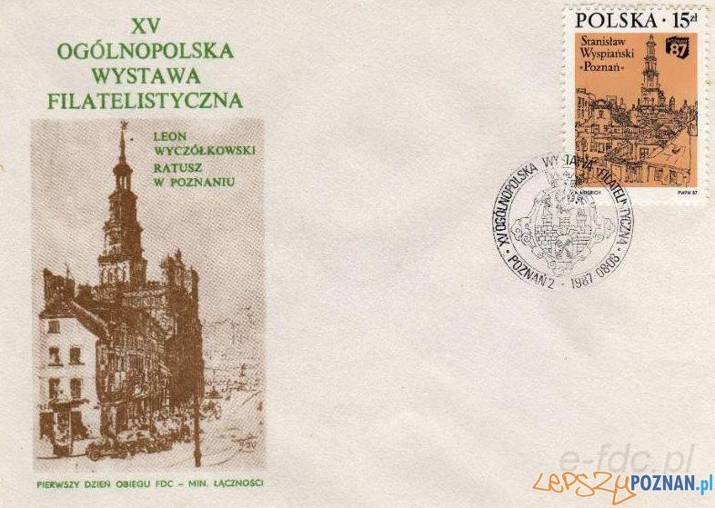 Wystawa Filatelistyczna - Poznań 87 Foto: http://www.e-fdc.pl/