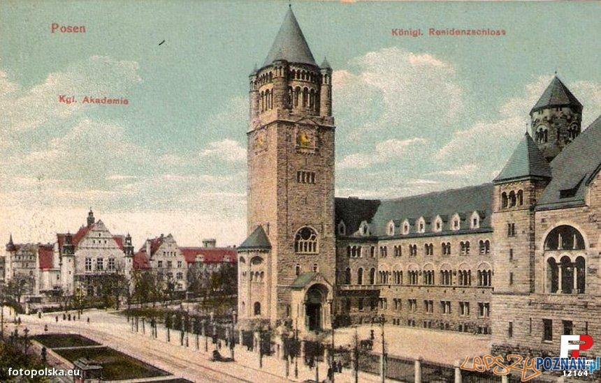 Zamek Cesarski, pocztówka - lata 1910-15  Foto: fotopolska.eu