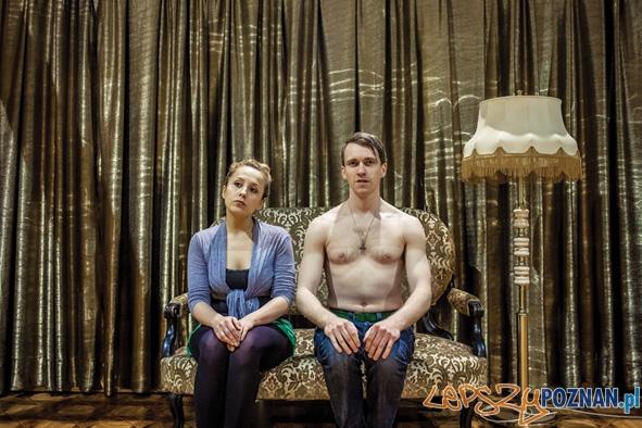 Teatr Nowy - Dom Lalki - na zdjęciu A.Mierzwa i N.Kasprowicz Foto: B. Sowa