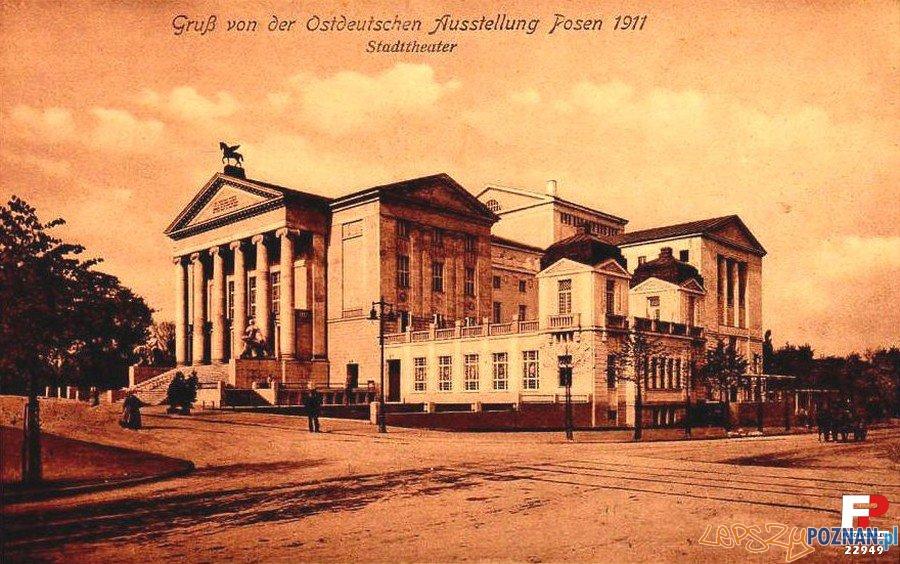 Opera w 1911 roku Foto: fotopolska.eu