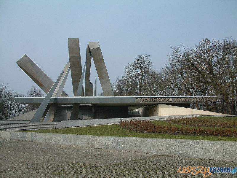 Pomnik_Armii_Poznań_Poznań Foto: wikipedia