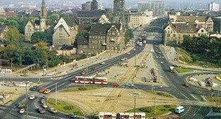 Poznań Rondo Kopernika - Kaponiera 1987