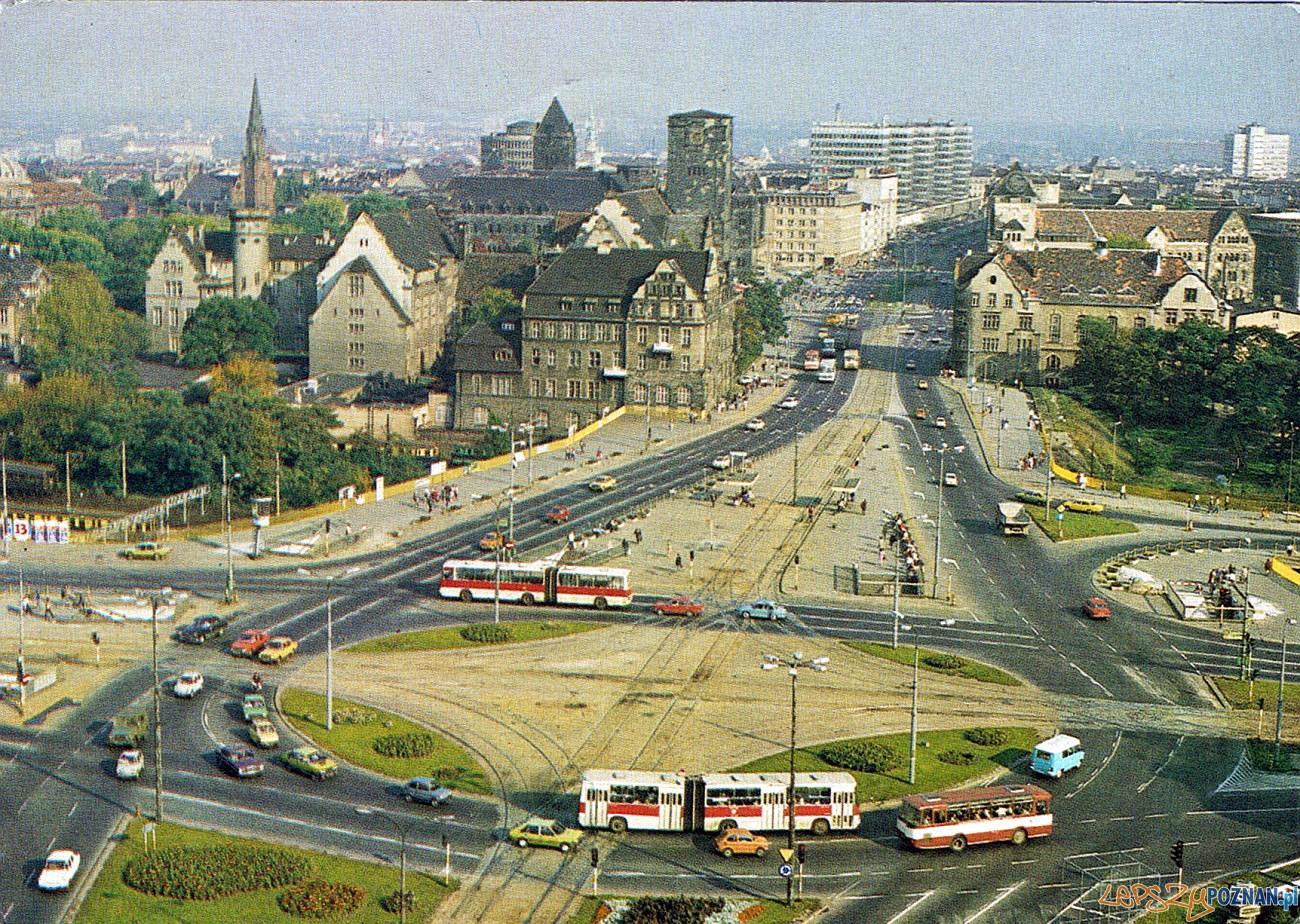 Poznań Rondo Kopernika - Kaponiera 1987  Foto: fotopolska.eu