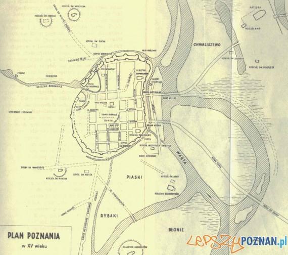 Poznań w XV wieku Foto: www.walkowiak.pl