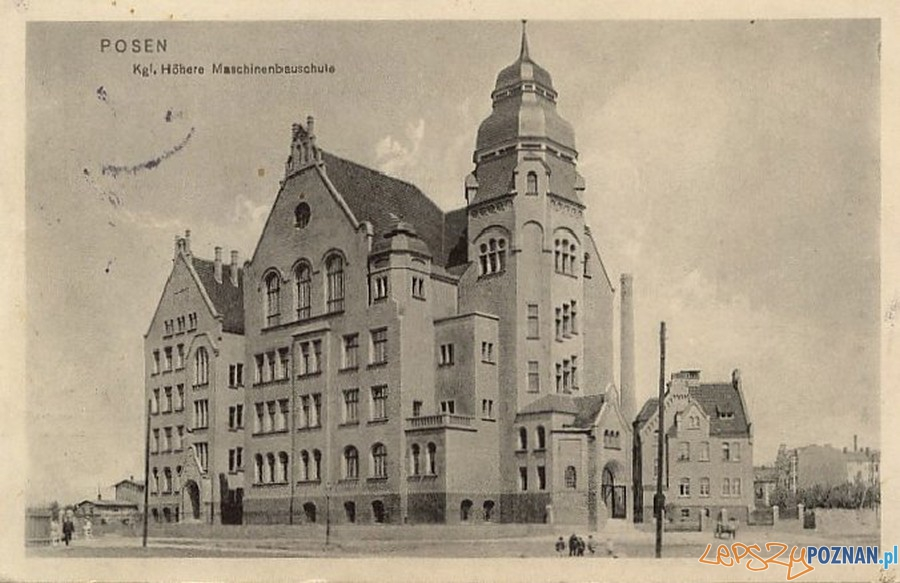 Rektorat Politechniki Poznańskiej (1916) Foto: fotopolska.eu