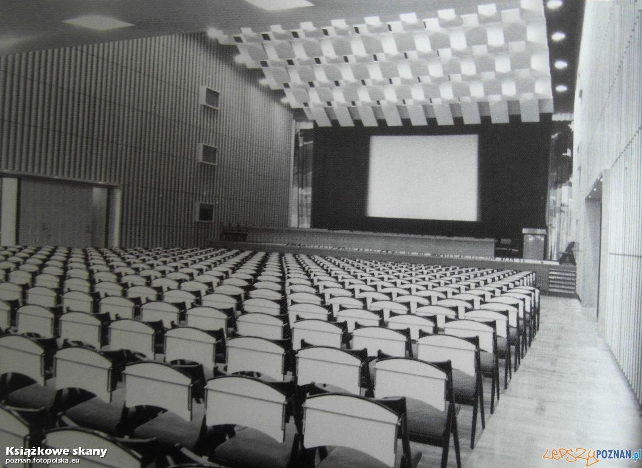 Sala kinowa w Palacu Kultury - CK Zamek, rok 1968 Foto: fotopolska.eu