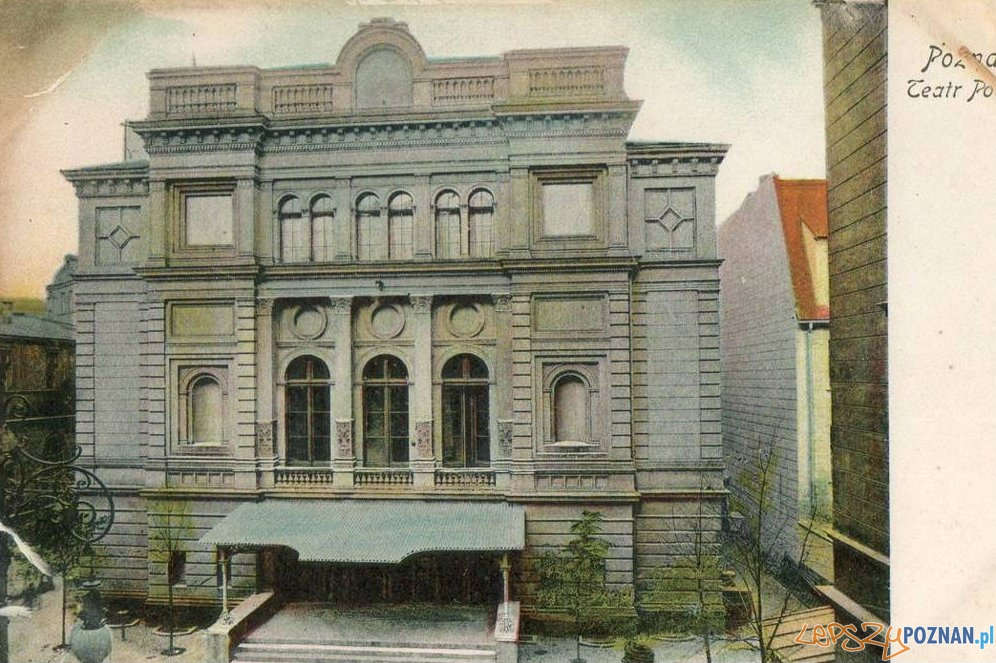Teatr Polski w roku 1910 Foto: fotopolska