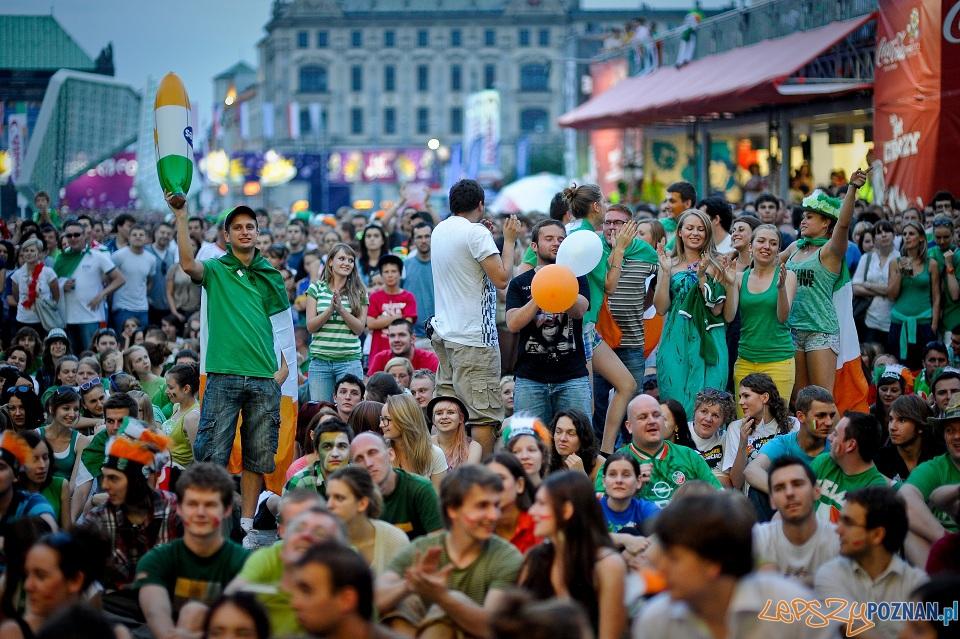 UEFA EURO 2012 w Poznaniu  Foto: GRZEGORZ NELEC