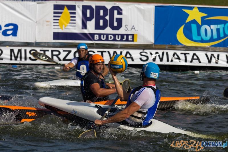 Mistrzostwa Świata w Kajak Polo -  mecz Holandia - Francja  Foto: lepszyPOZNAN.pl / Piotr Rychter