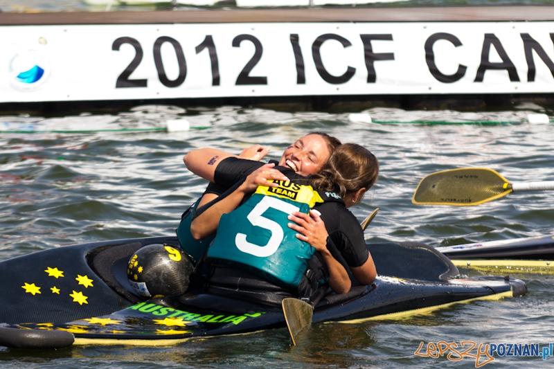 Mistrzostwa Świata w Kajak Polo -  mecz kobiet Australia - Nowa Zelandia  Foto: Piotr Rychter