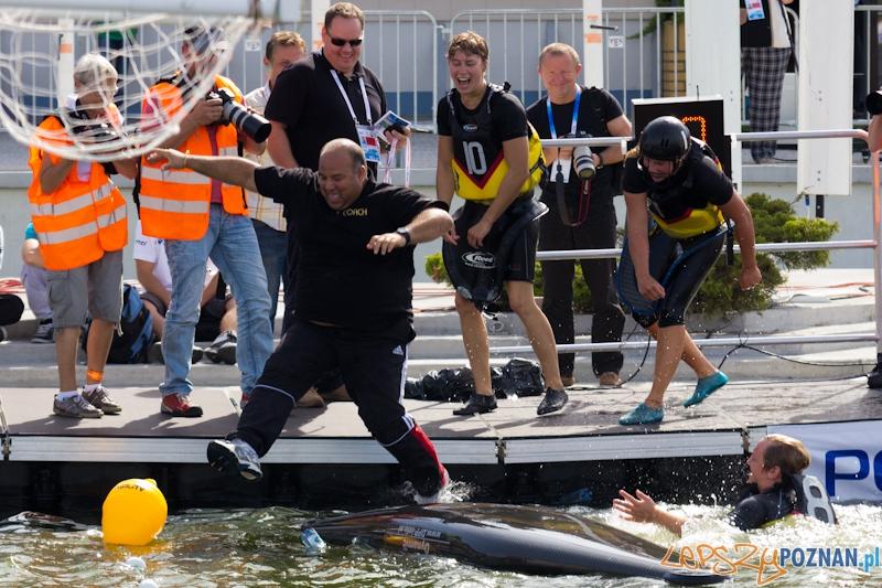 Mistrzostwa Świata w Kajak Polo -  mecz kobiet Niemcy - Wileka Brytania  Foto: lepszyPOZNAN.pl / Piotr Rychter