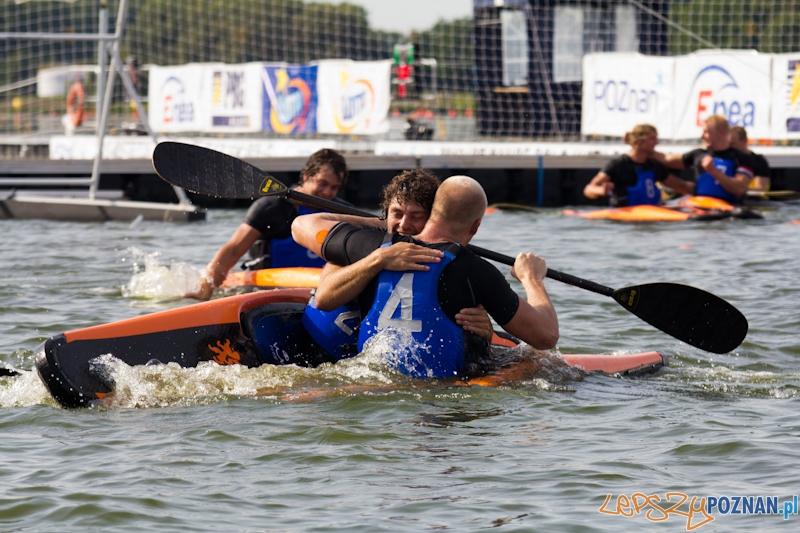 Mistrzostwa Świata w Kajak Polo -  mecz Niemcy - Holandia  Foto: lepszyPOZNAN.pl / Piotr Rychter