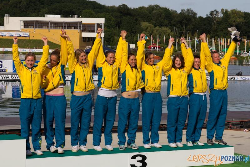 Mistrzostwa Świata w Kajak Polo -  wręczenie medali  Foto: lepszyPOZNAN.pl / Piotr Rychter