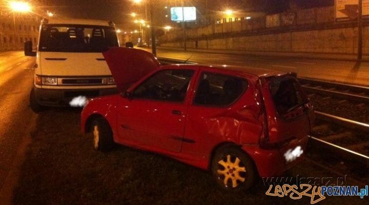 Wypadek na Hetmańskiej Foto: lazarz.pl