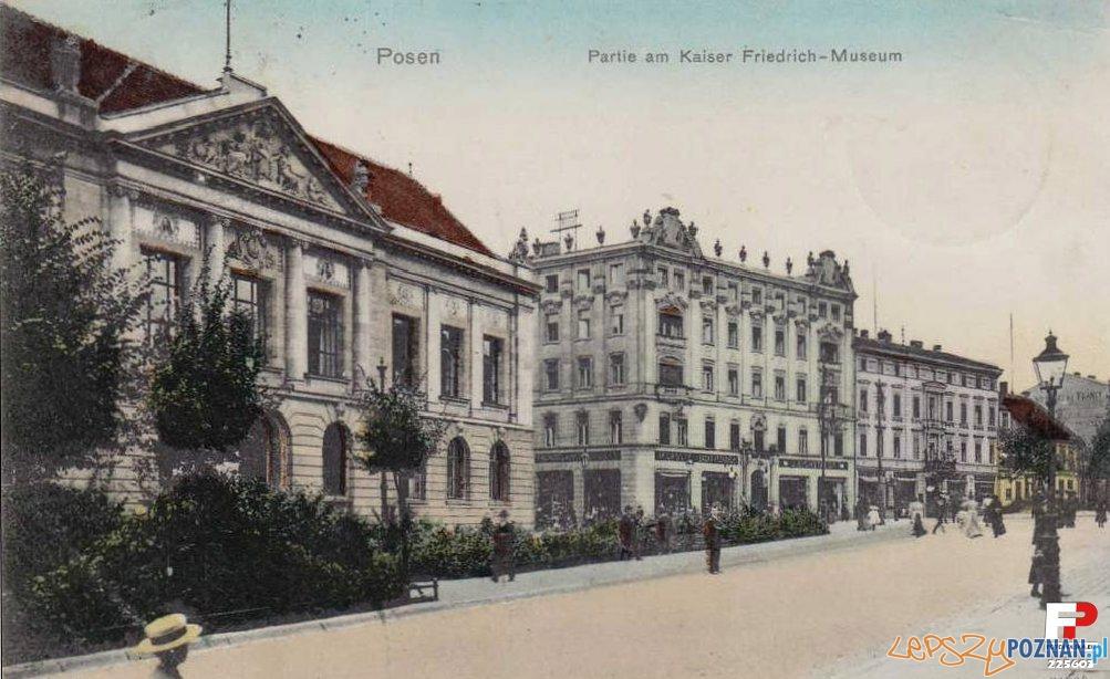 Dzisiejsze Muzeum Narodowe (1908) Foto: fotopolska.eu