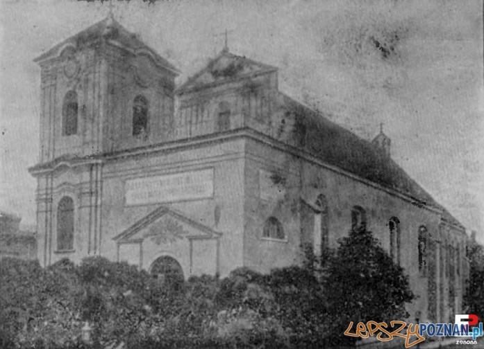 Kościół jezuicki przy ulicy Szewskiej, początek XX wieku Foto: Album Przewodnika Katolickiego, za fotopolska.eu