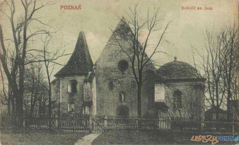 Kościół św. Jana Jerozolimskiego lata 1919-25