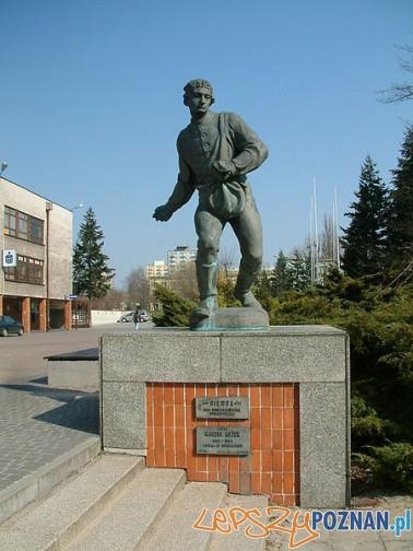 Pomnik Siewcy przed Uniwersytetem Przyrodniczym Foto: wikipedia.pl