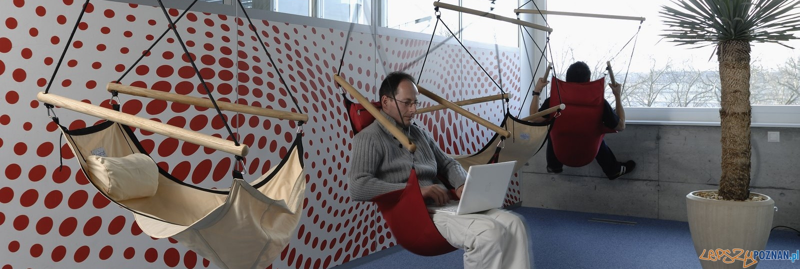 Nietypowe biuro Google'a w Zurichu  Foto: Google