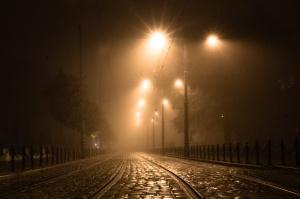 Mgła w Poznaniu - Podgórna Foto: lepszyPOZNAN.pl / Piotr Rychter