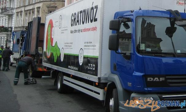Gratowóz  Foto: ZZO Poznań