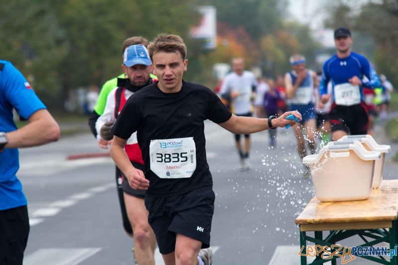 13 Poznań Maraton - nowa trasa od startu do mety. 14.10.2012 r.  Foto: lepszyPOZNAN.pl / Piotr Rychter