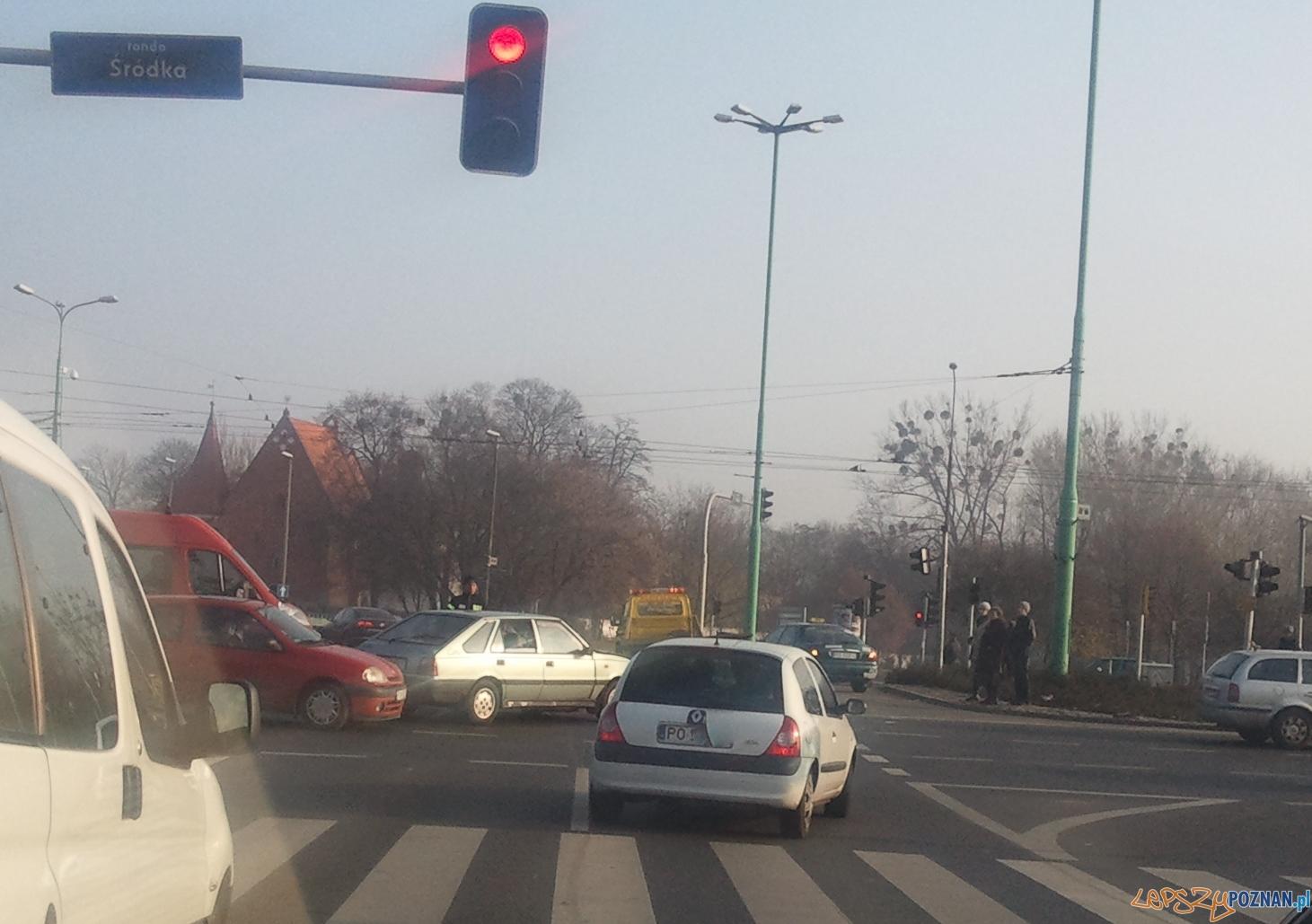 Wypadek na śródce  Foto: lepszyPOZNAN.pl / Ilona