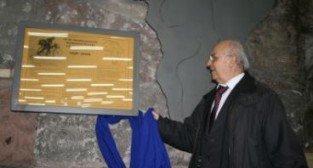 Odsłonięcie tablicy pamięci Kazimierza Nowaka