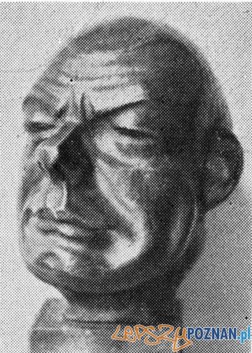 Franciszek Ryll – rzeźba Edwarda Haupta Foto: cc/wikipedia