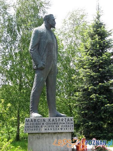 Pomnik Marcina Masprzeka w Czołowie Foto: wikipedia.pl