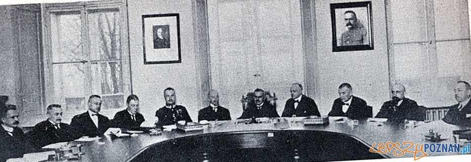 Rzad RP Wladyslawa Grabskiego rok 1924 Foto: wikipedia.pl