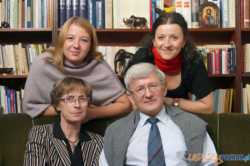Senator Marek Ziółkowski z rodziną